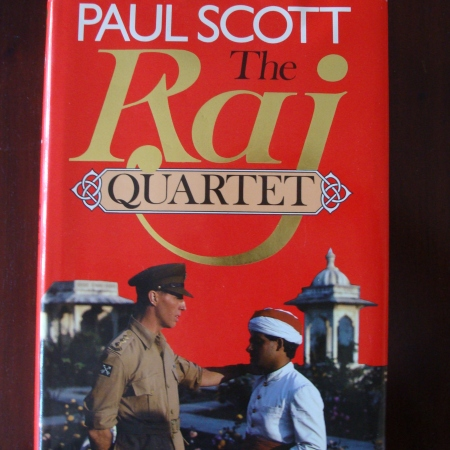 Cover image of The Raj Quartet by Paul Scott