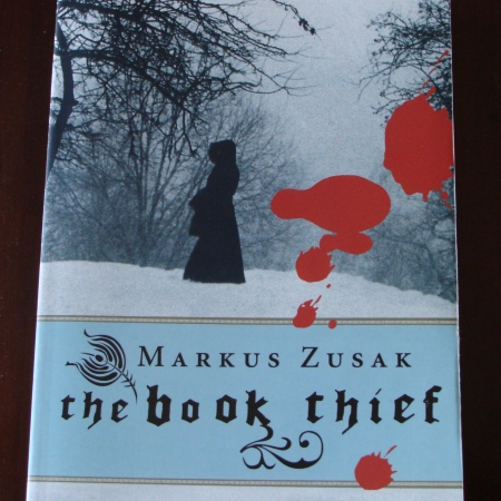 Cover image of The Book Thief, a novel by Markus Zusak