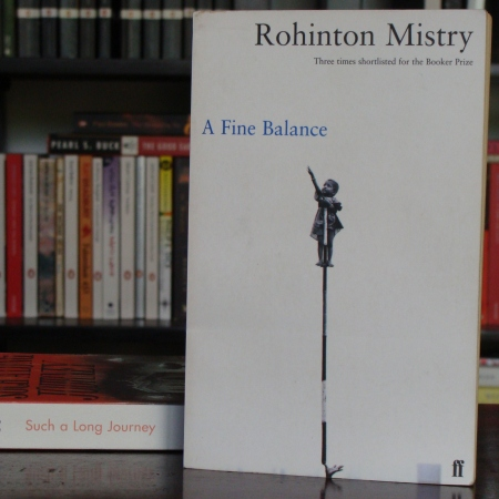 Cover image of A Fine Balance, a novel by Rohinton Mistry
