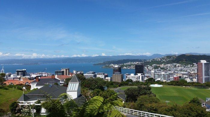 You can't beat Wellington on a good day!