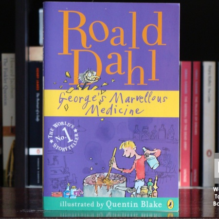 Cover image of George's Marvellous Medicine by Roald Dahl