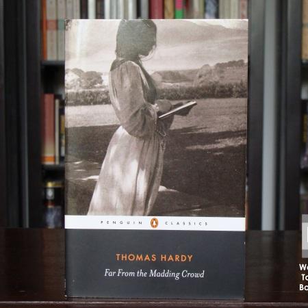 Cover image of Far From the Madding Crowd, a novel by Thomas Hardy
