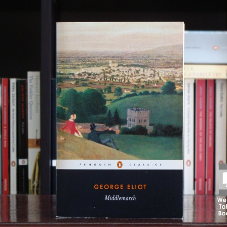Cover image of Middlemarch, a novel by George Eliot