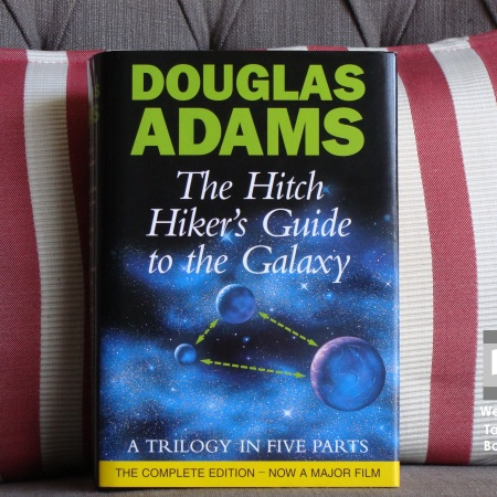 Cover image of The Hitchhiker's Guide to the Galaxy by Douglas Adams
