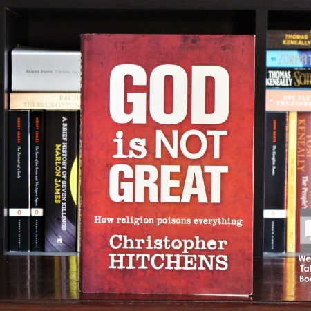 Cover image of God is Not Great by Christopher Hitchens