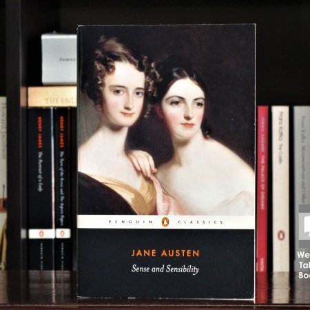 Cover image of Sense and Sensibility, a novel by Jane Austen