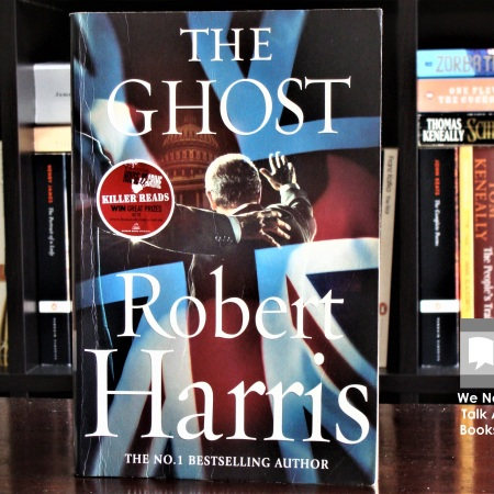 Cover image of The Ghost, a novel by Robert Harris