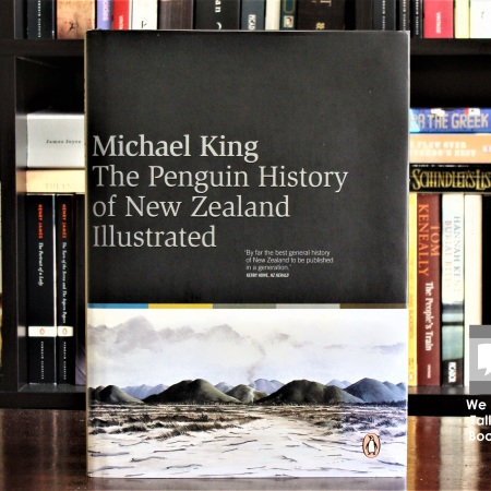 Cover image of The Penguin History of New Zealand Illustrated by Michael King