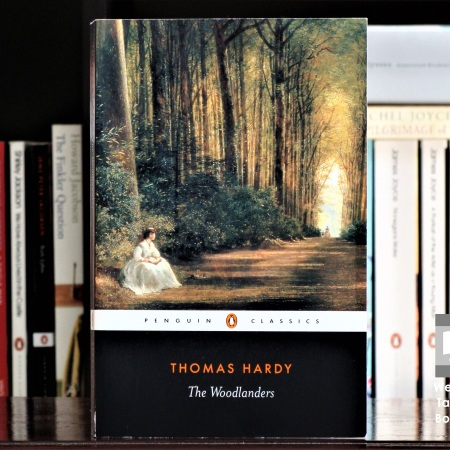 Cover image of The Woodlanders, a novel by Thomas Hardy