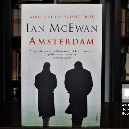 Cover image of Amsterdam, a novel by Ian McEwan
