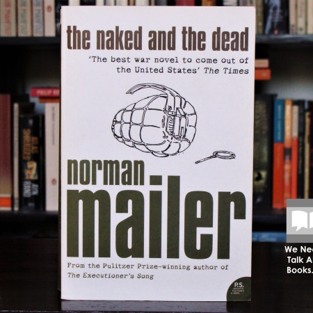 Cover image of The Naked and the Dead, a novel by Norman Mailer