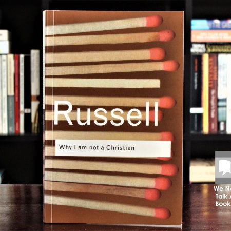 Cover image of Why I Am Not a Christian by Bertrand Russell