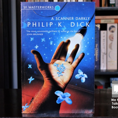 Cover image of A Scanner Darkly a novel by Philip K Dick