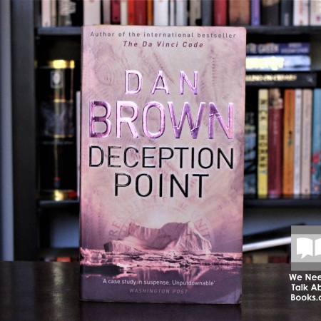 Cover image of Deception Point, a novel by Dan Brown