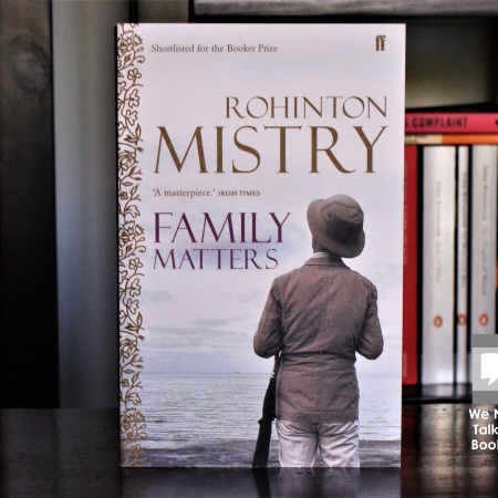 Cover image of Family Matters a novel by Rohinton Mistry