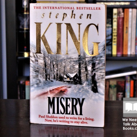 Cover image of Misery, a novel by Stephen King