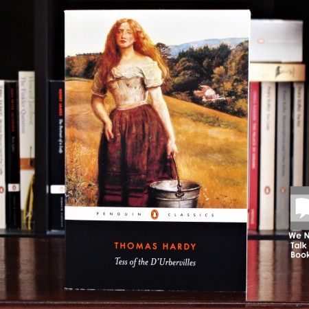 Cover image of Tess of the D'Urbervilles, a novel by Thomas Hardy