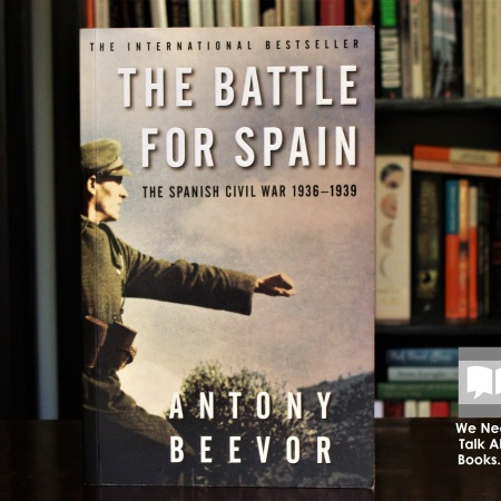 Cover image of The Battle for Spain by Antony Beevor