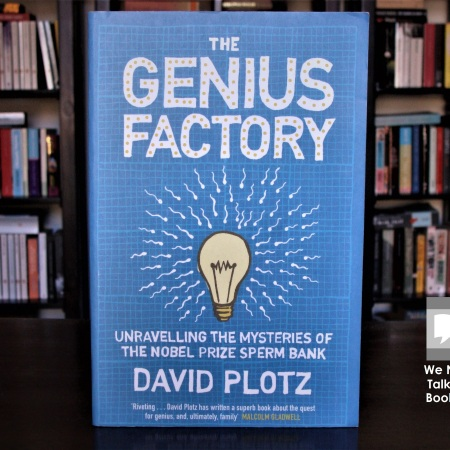 Cover image of The Genius Factory by David Plotz