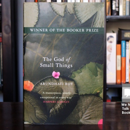 Cover image of The God of Small Things a novel of Arundhati Roy