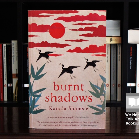 Cover image of Burnt Shadows a novel by Kamila Shamsie