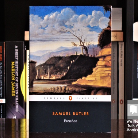 Cover image of Erewhon, a novel by Samuel Butler