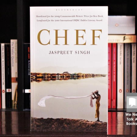 Cover image of Chef a novel by Jaspreet Singh
