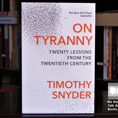 Cover image of On Tyranny by Timothy Snyder