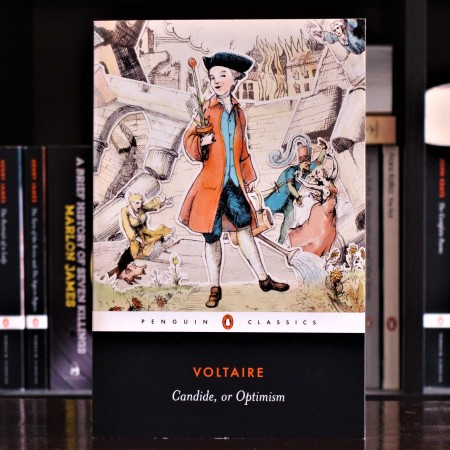 Cover image of Candide by Voltaire