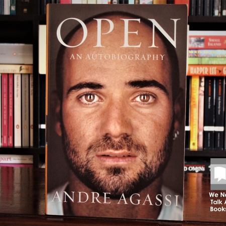 Cover image of Open, an autobiography by Andre Agassi