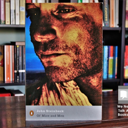 Cover image of Of Mice and Men, novel by John Steinbeck