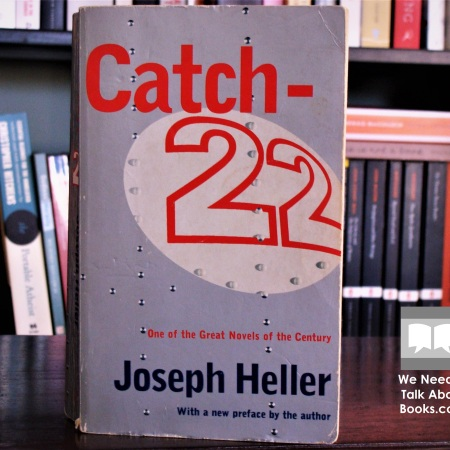 Cover image of Catch-22, a novel by Joseph Heller