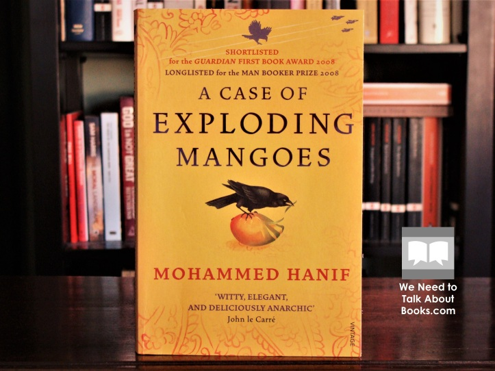 Cover image of A Case of Exploding Mangoes, a novel by Mohammed Hanif