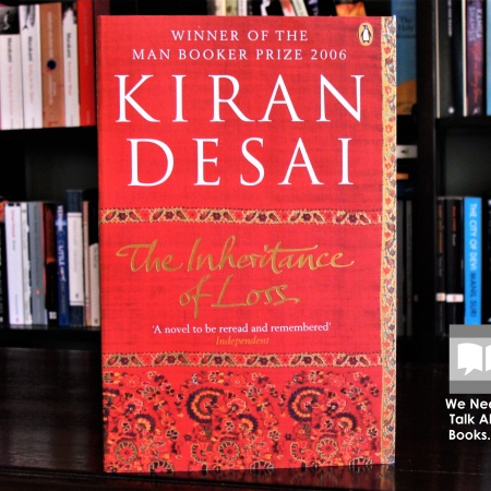 Cover image of The Inheritance of Loss by Kiran Desai