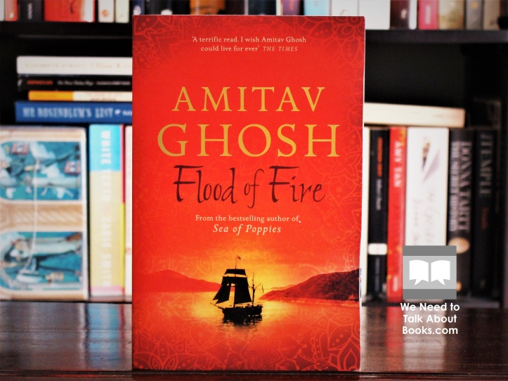 Cover image of Flood of Fire by Amitav Ghosh