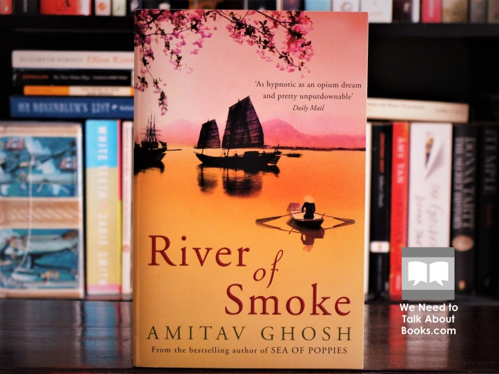 Cover image of River of Smoke by Amitav Ghosh
