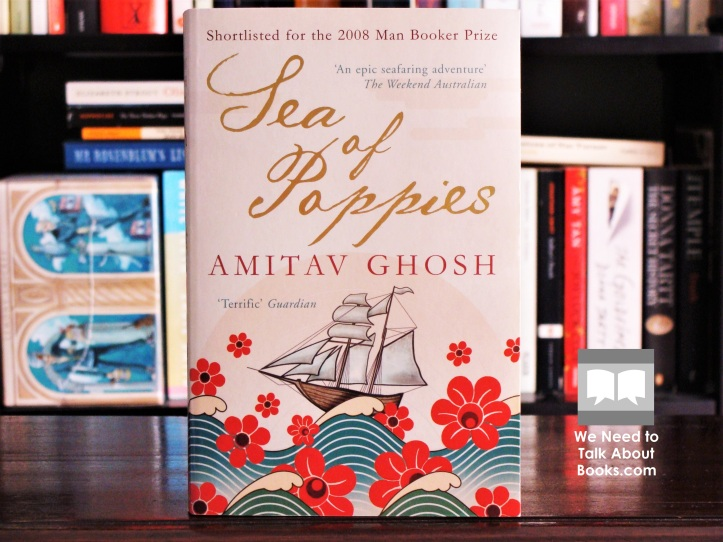 Cover image of Sea of Poppies by Amitav Ghosh
