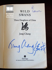 Autograph of Jung Chang, author of Wild Swans