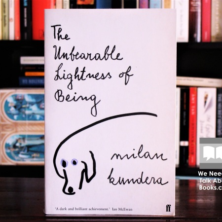 Cover image of The Unbearable Lightness of Being by Milan Kundera