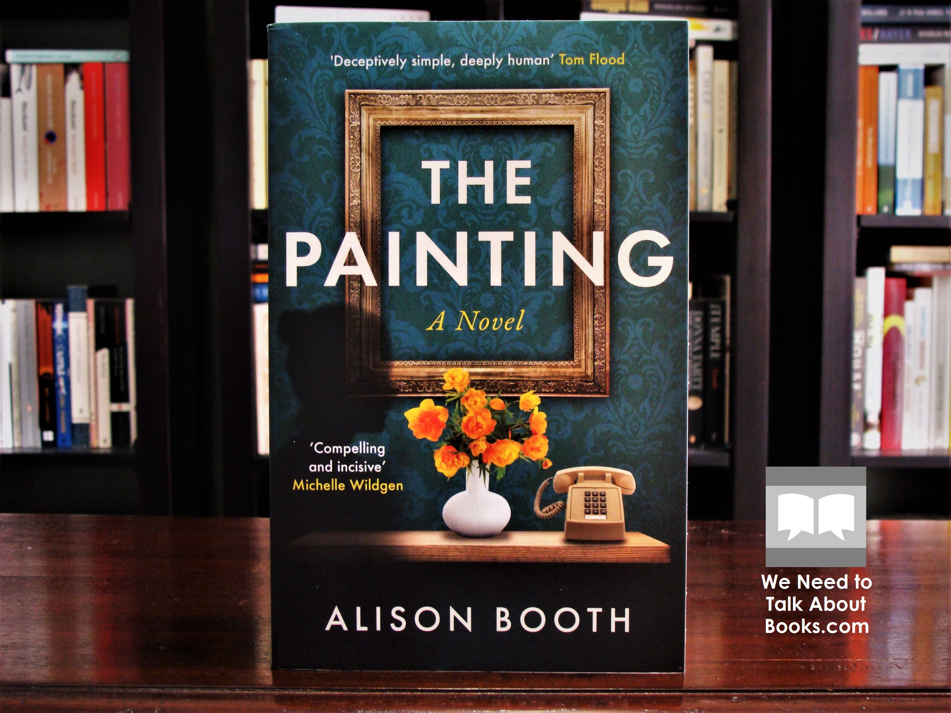Cover image of The Painting by Alison Booth